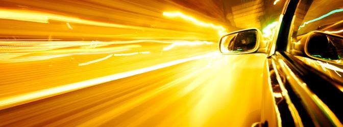 60 km/h zu schnell? The car is on fire - so allerdings auch der Bußgeldbescheid.