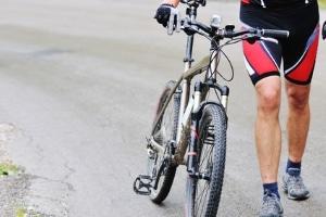 Alkohol am Fahrrad: Betrunken ein Fahrrad zu schieben, ist keine Straftat.