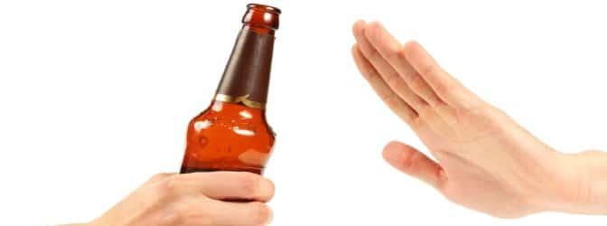 Beim Alkohol soll kontrolliertes Trinken praktiziert werden
