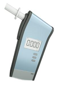 Ein Alkoholmessgerät analysiert zuverlässig und schnell.