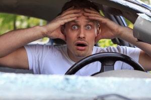 Der Konsum von Amphetamin erhöht das Risiko für einen Unfall.