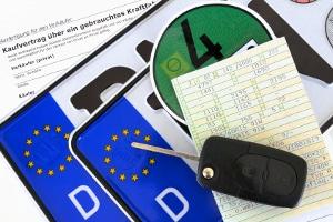 Auto anmelden: Für die Kfz-Zulassung werden einige Unterlagen benötigt.