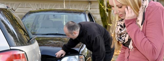 Wie sollten Sie sich verhalten, wenn Sie mit Ihrem Auto einen Auffahrunfall verschuldet haben?
