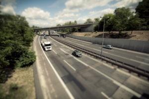 Auch auf der Autobahn in Belgien gilt es die Verkehrsregeln zu beachten.
