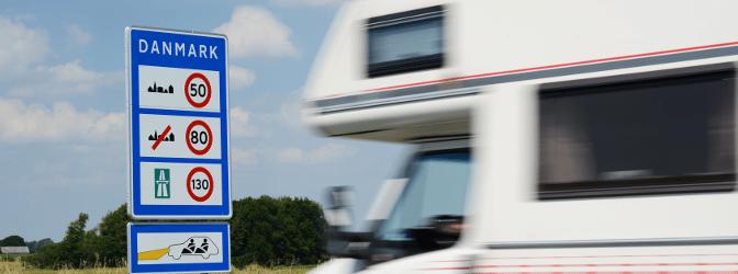 Müssen auf einer Autobahn in Dänemark besondere Regeln beachtet werden?