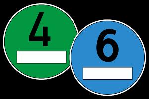 Die Einführung einer blauen Umweltplakette ist umstritten.