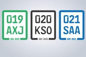 Ab 1. März 2021 ist ein blaues Versicherungskennzeichen vorgeschrieben.