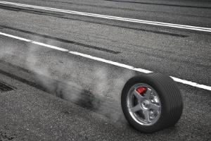 Bei der Ermittlung eines Bremsweges wird die Schrecksekunde mit eingeplant