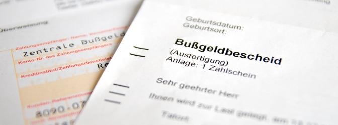 Ein Bußgeldbescheid aus Belgien verjährt später als es in Deutschland üblich ist.