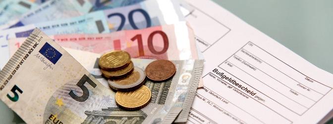 Wie hoch sind die beim Bußgeldbescheid anfallenden Gebühren sowie Auslagen und müssen Sie diese zahlen?