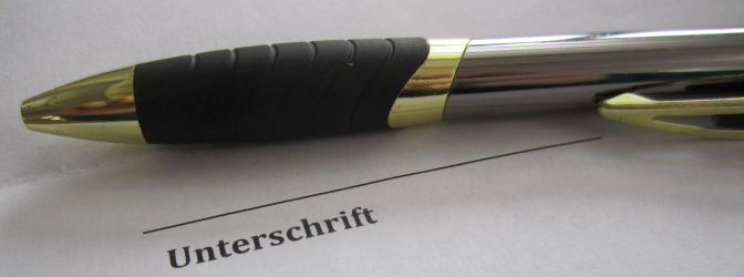 Ein Bußgeldbescheid ohne Unterschrift sorgt oft für Unsicherheit