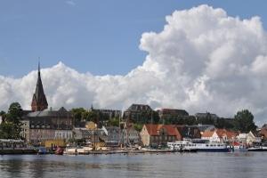 Bußgeldbescheid: Die Punkte werden nach Rechtskraft in Flensburg vermerkt.