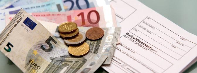 Der Bußgeldbescheid ist Teil des Bußgeldverfahrens