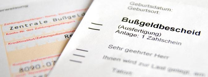 Auf Ihrem Bußgeldbescheid steht ein falscher Name? Zahlen müssen Sie in den meisten Fällen trotzdem.