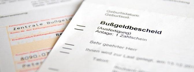 Die Bußgeldstelle in Niedersachsen verschickt Bußgeldbescheide und leitet Bußgeldverfahren ein.
