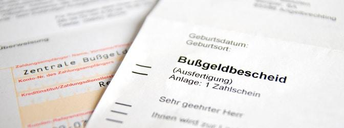 Ist bei einem Bußgeldverfahren der Ablauf grundsätzlich gleich?
