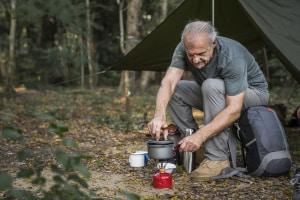 Im Wald ist das Camping meist verboten.