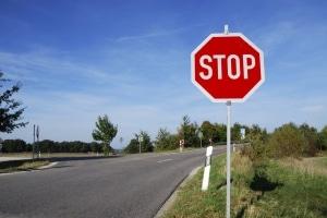 Dänische Verkehrszeichen unterscheiden sich oft nicht von den deutschen.