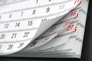 Wie lange ist ein Monat Fahrverbot? Wie viele Tage es andauert, hängt vom Monat ab.