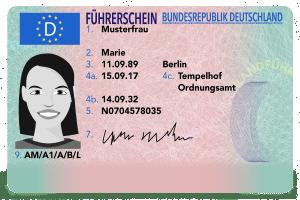 Dank der EU-Richtlinie gilt der Führerschein in allen Mitgliedsstaaten.