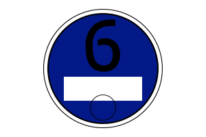 Unter anderem für Benziner der Abgasnorm Euro 6: Die blaue Plakette könnte die Kontrolle von Fahrverboten erleichtern.