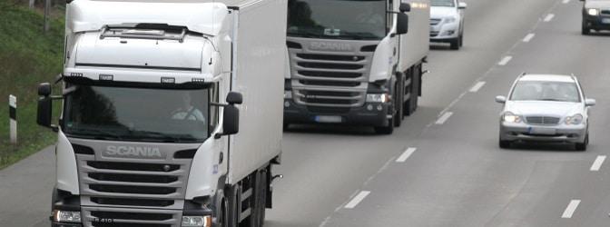 Auf der Fahrerkarte werden die Daten des Lkw-Fahrers und seiner getätigten Fahrten im Güterverkehr gespeichert.