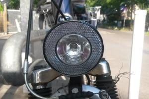 Die Fahrradbeleuchtung ist laut StVZO vorgeschrieben.