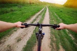 Auch mit dem Fahrradführerschein hört das Lernen nicht auf.