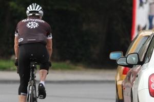 Auf einer Fahrradstraße gilt eine Geschwindigkeit von höchstens 30 km/h