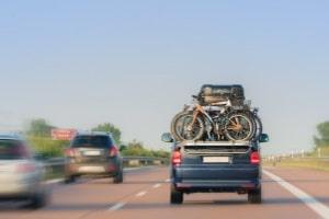 Ein Fahrradträger ist in Dänemark grundsätzlich erlaubt.