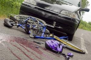 Ein Fahrradunfall kann sowohl Sach- als auch Personenschäden zur Folge haben.