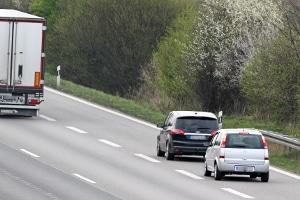 Wann droht ein Fahrverbot bei einer Abstandsmessung auf der Autobahn?