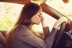 Um ein Fahrverbot zu verhindern, wird häufig mit Augenblicksversagen argumentiert.