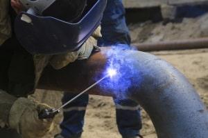 Nur ein Bestandteil der Luftverschmutzung bei Feinstaubalarm: Feinstaub entsteht bspw. durch Bauarbeiten.