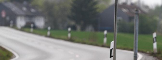 Geblitzt auf der Landstraße - welche Buße fällt an?