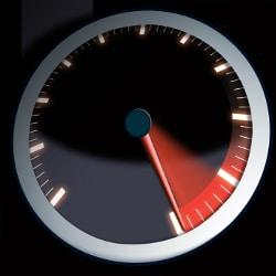 Eine Geschwindigkeitsbegrenzung gibt es auf vielen Autobahnabschnitten für Pkw nicht.