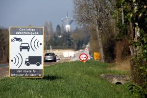 Werden für eine Geschwindigkeitsüberschreitung in Frankreich Punkte ausgesprochen?