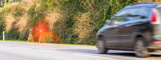 Wie hoch fällt bei einer Geschwindigkeitsüberschreitung in Schweden das Bußgeld aus?