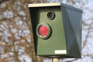 Die Geschwindigkeitsüberwachung wird häufig stationär aufgebaut.