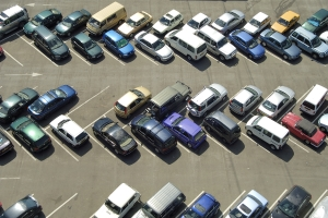 Nicht überall dürfen Sie in Griechenland Ihr Auto abstellen.