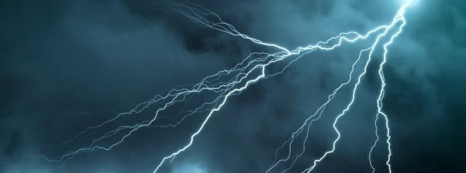 Höhere Gewalt: Dazu zählen auch heftige Unwetter und Stürme.