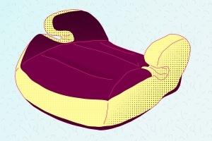 Damit Kinder eine Sitzerhöhung im Auto auch gerne verwenden, sollten Sie diese ggf. in die Kaufentscheidung mit einbeziehen.