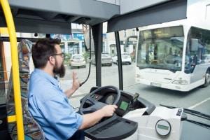 Die Lenkzeiten sind für Busfahrer von den Arbeitszeiten abzugrenzen.
