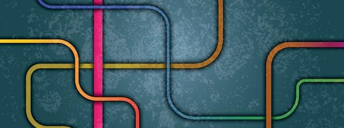 Linienverfolgungstest müssen Testteilnehmer ineinander verschlungene Linien möglichst schnell zurückverfolgen.