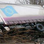 Wie viele Lkw waren in Unfälle verwickelt? Laut Statistik 32.234 im Jahr 2017.