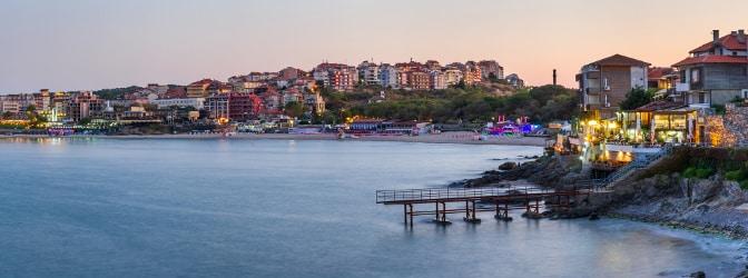 Das Schwarze Meer kann die Maut in Rumänien bereits wert sein.