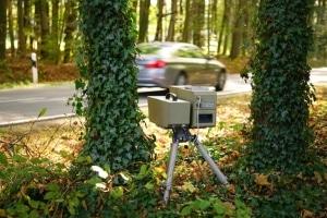 Mobile Radargeräte setzt meist die Polizei ein.