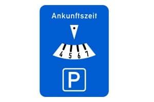 Parken kann in Dänemark zeitlich begrenzt sein, sodass auf die Angaben zu achten ist.