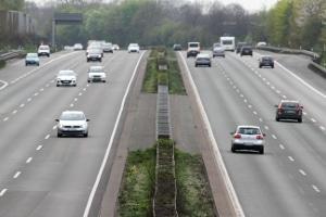 Das Police-Pilot-System kommt häufig auf Autobahnen zum Einsatz.