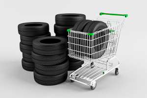 Wer neue Reifen aufziehen möchte, sollte schon beim Kauf darauf achten, die richtige Größe auszuwählen.